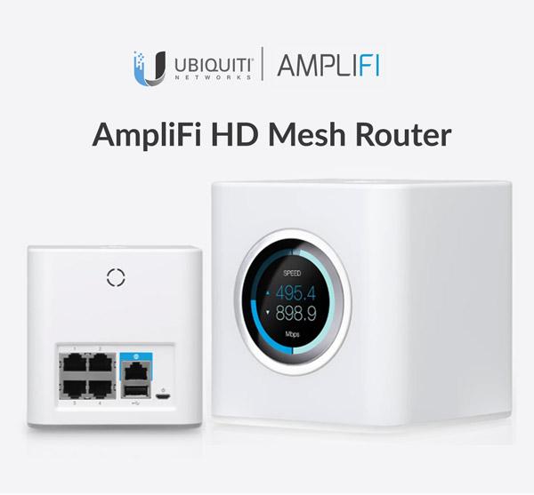 AmpliFi HD Mesh Router - apresentação
