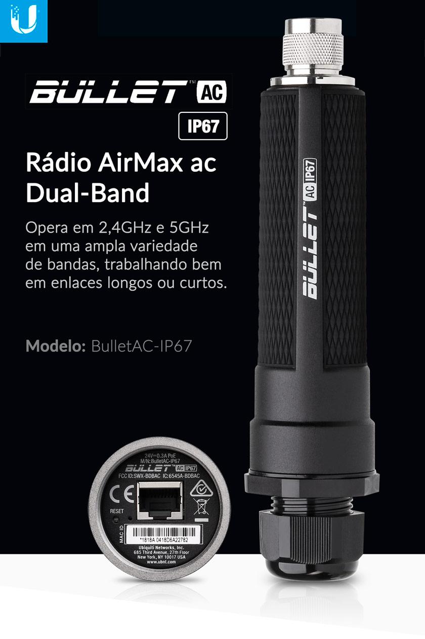 Bullet AC IP67 - Apresentação