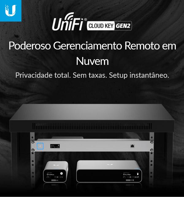 UniFi Cloud Key Gen2 Plus - Apresentação
