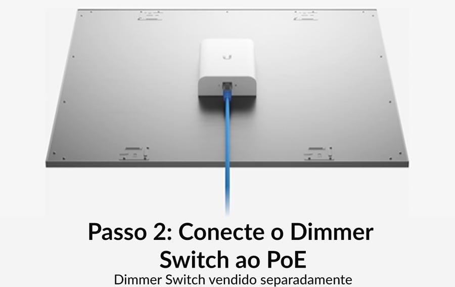 Passo 2: Conecte o dimmer switch ao PoE