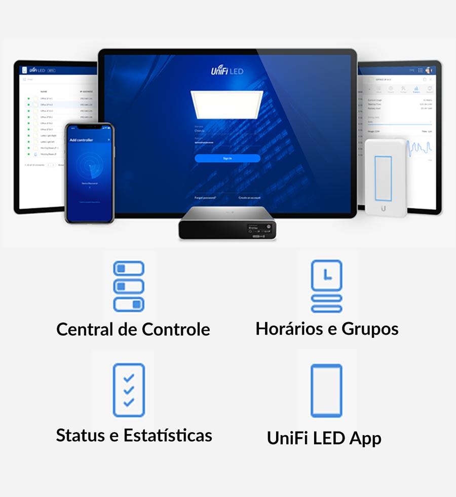 Controle Flexível com o UniFi LED Controller