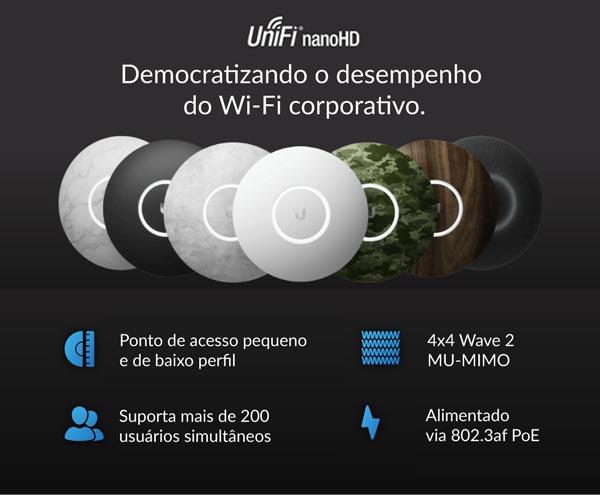 Apresentação do UniFi nanoHD