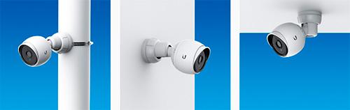 Fixação da câmera UniFi UVC G3 em postes, paredes ou teto